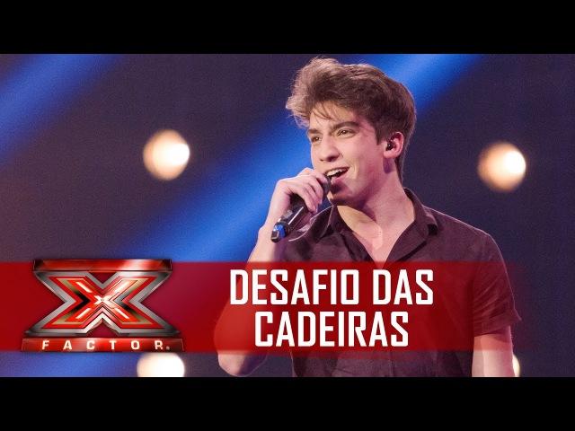Conrado dribla timidez e conquista uma cadeira | X Factor BR