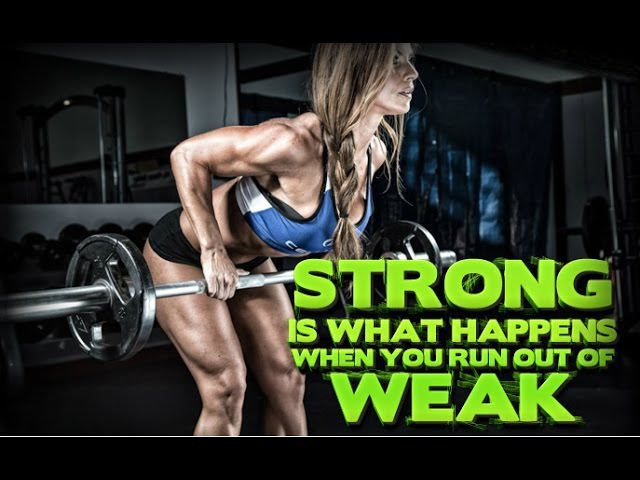 Girls With Muscle Female Bodybuilding Motivation FitABS Mood Music