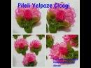 Organze Kurdele oyalarıPİLELİ YELPAZE ÇİÇEĞİ,Forex flower,health flower,summer Taksim flower