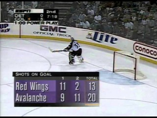 NHL 1996/1997, Кубок Стэнли, 1/2 финала, Detroit Red Wings vs Colorado Avalanche, Матч №5