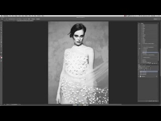 Editorial Collection Black & White with Lara Jade