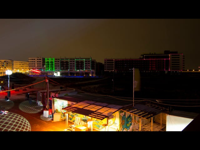 LASER CITY / aspern Seestadt / Show