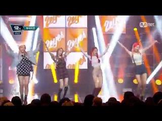 (150903) 2EYES () - PIPPI @ Mnet M!COUNTDOWN