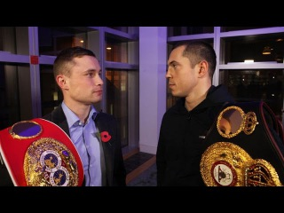 CARL FRAMPTON vs SCOTT QUIGG Promo