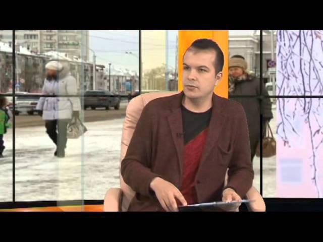 Готово ли дорожное управление Барнаула к зиме Наше время 03 11 15 с Антоном Шеломенцевым