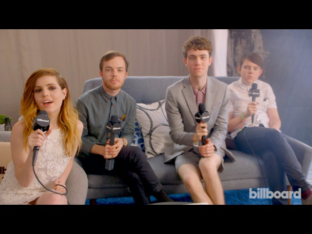 Echosmith 'We Grew Up With Bands Like The Cure and U2' BottleRock Napa Valley 2015