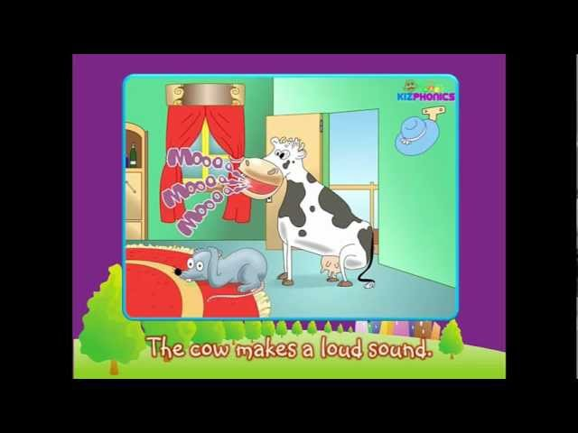 Mouse Cow Diphthong au Phonics Story ow ou
