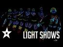 Best Light Shows Ever On America's Got Talent Britain's Got Talent