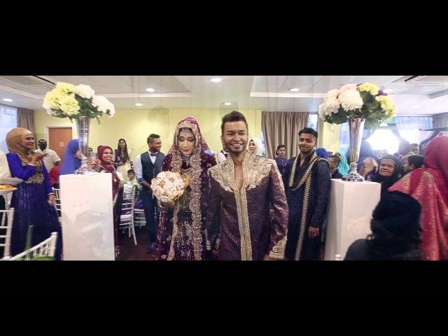 Zafir Sameenah Malaysia Indian Muslim Wedding Video Montage Trailer