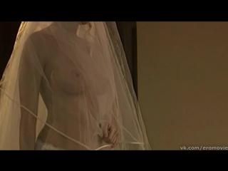 Наталья Костенева в сексуальном свадебном платье