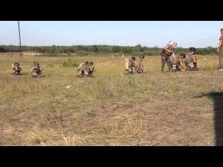 Обучение Нацгвардии Выучка гранатометчиков
