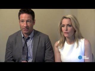 'X-Files' stars on series reboot