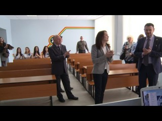ТГУ NEWS: Новая лаборатория ИХиИЭ ТГУ от корпорации «ТОАЗ»