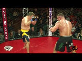Fight Legends of the Quad Cities   Alex Rozman VS Dan Severn