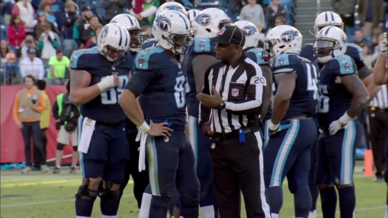 Marcus Mariota Micd Up for Dominating 4 TD Game Jaguars vs Titans Inside the NFL
