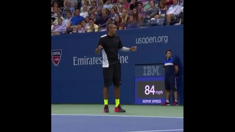 Энди Маррей Тот форхенд Киргиоса сегодня в матче такое может случиться только с ним Теннис