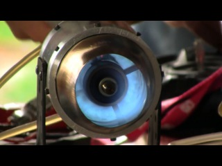 Homemade Jet Engine 2.0   2. Testrun