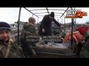 н.п. Красный Партизан. Передача погибших бойцов ВСУ 24.01.2015 Строго 18 (
