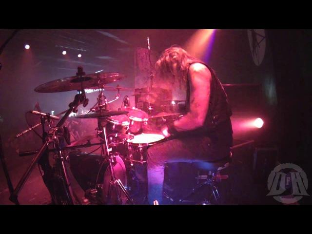 MARDUK@ Cloven Hoof Fredrik Widigs Live in Poland Warsaw 2015 Drum Cam
