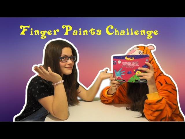 Finger Paints Challenge ~Nastya Catsby~