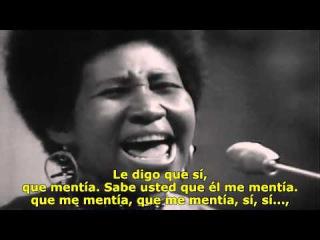 Aretha Franklin: Don't Play That Song (Directo) (Subtitulada en español)