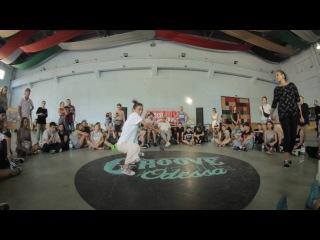 Gelya vs Notika | House 1\4 | Groove Avenue 2016