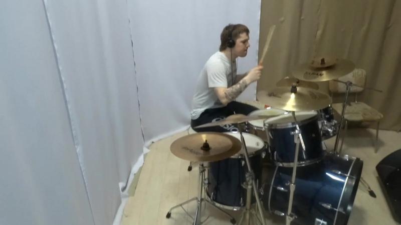 Liquid Tension Experiment - Biaxident- drum cover Ilya Volchkov