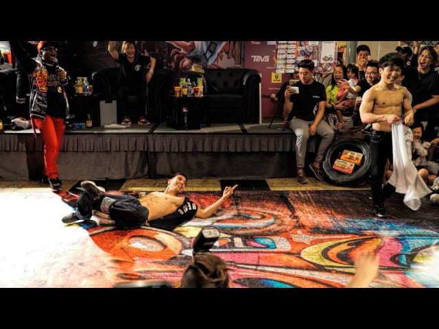 B-Boy Victor (USA) B-Boy Pocket (KOR) | Judge Battle Showcase | SG BBoy Champs 2016