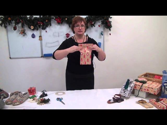 Упаковка Рубашка с галстуком Как красиво упаковать мужской подарок Ч 2