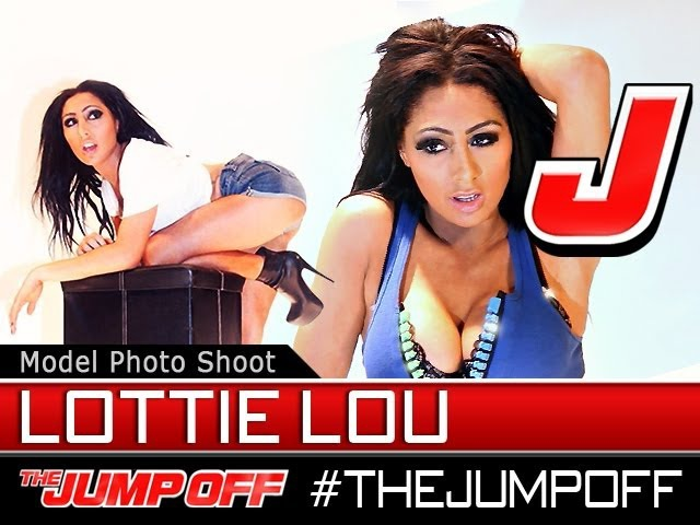 MODEL Lottie Lou Dat Tag Clothing Live Model Photoshoot @ TheJumpOff 2012 WK04