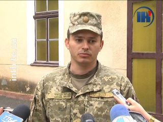 У Тернопіль повернулися 20 військовослужбовців з зони АТО
