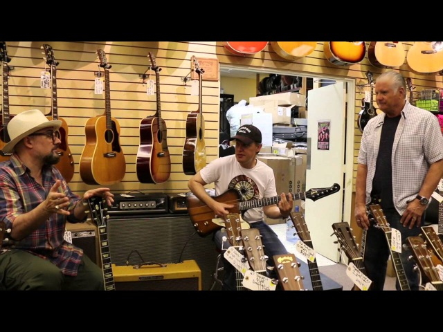 Joe Bonamassa Jimmy Vivino play at Norman's Rare Guitars