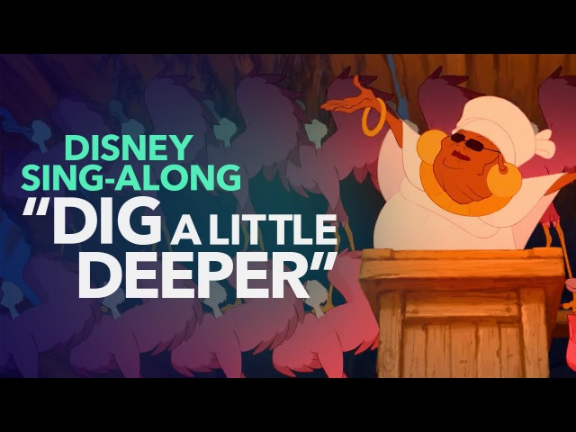 Princess and the Frog Dig A Little Deeper Disney Sing Along