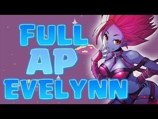 Nightblue3 - FULL AP EVELYNN ZERO COOLDOWN ON Q URF