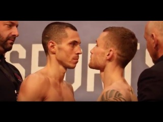 EXTREMELY HEATED!! - CARL FRAMPTON v SCOTT QUIGG - OFFICIAL (FULL)  WEIGH IN / FRAMPTON v QUIGG