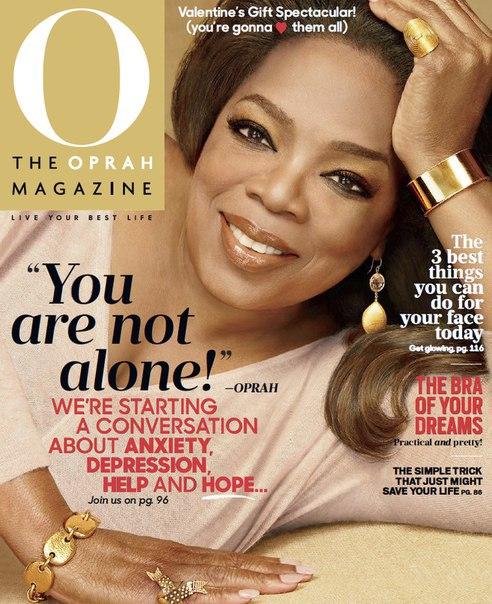 O The Oprah Magazine - February 2016  USA vk.com