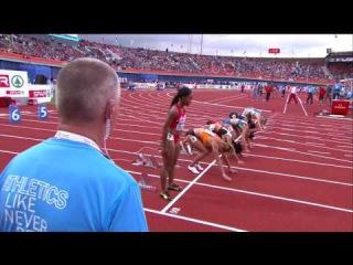 100m Women's Semifinal 3 - European Athletics Championships 2016