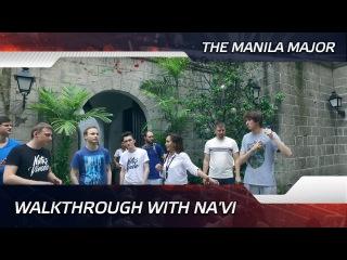 Walkthrough with Na'Vi @ The Manila Major (ENG SUBS!)