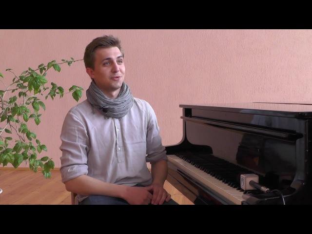 Всемирно известный молодой пианист Кирилл Кедук сыграл в Пинске