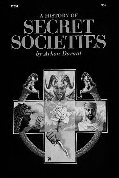 A History of Secret Societies Arkon Daraul text