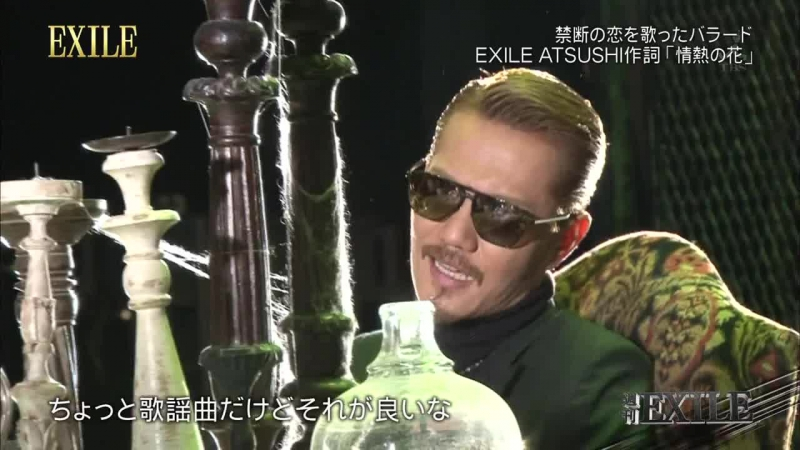 2015 03 02 週刊EXILE making EXILE NEW Single『情熱の花』 Alan Part