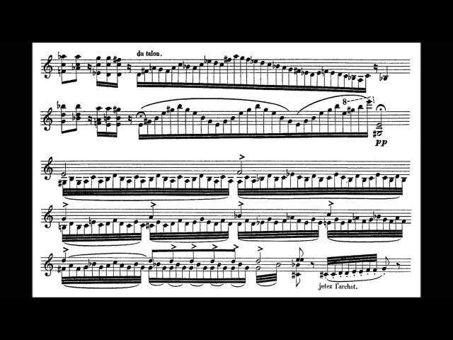 Beriot Charles A Prélude ou Improvisation op post for solo violin