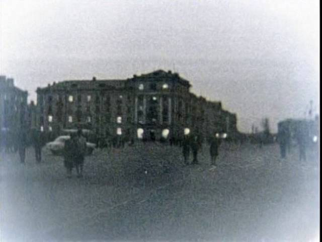 1963 Вечерний Череповец площадь Металлургов