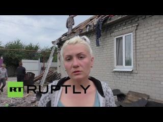 Украина: ОБСЕ осматривают тяжёлый обстрел в Донецкой области.