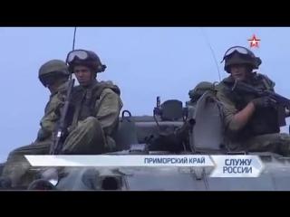 Российские морпехи сменили черные береты на голубые каски