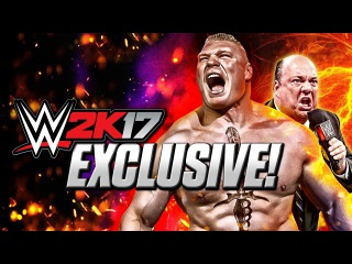 #My1 EXCLUSIVE WWE 2K17 GAME MODE - MY CAREER - BE A PAUL HEYMAN GUY