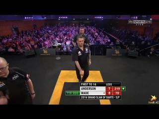 Gary Anderson vs James Wade (Grand Slam of Darts 2016 / Semi Final)