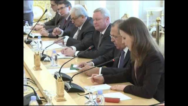 Переговоры С.Лаврова и Д.Буркхальтера