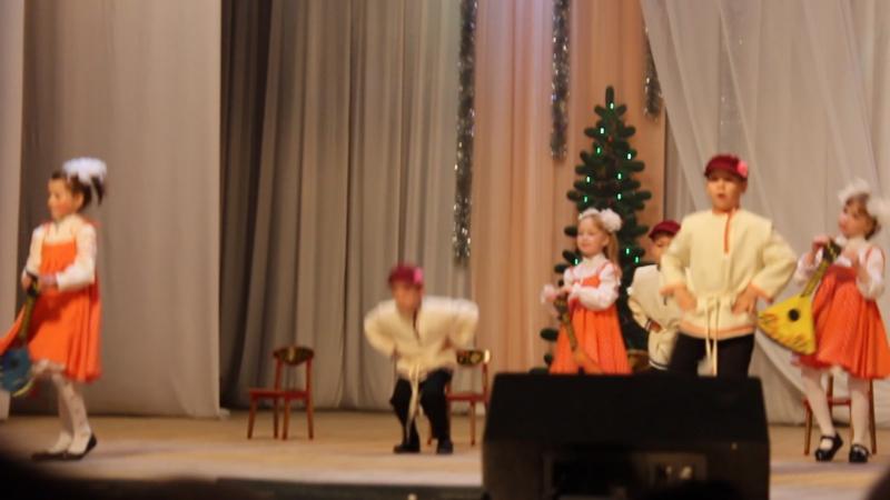 Танец с балалайками Старорусские жемчужины 2016