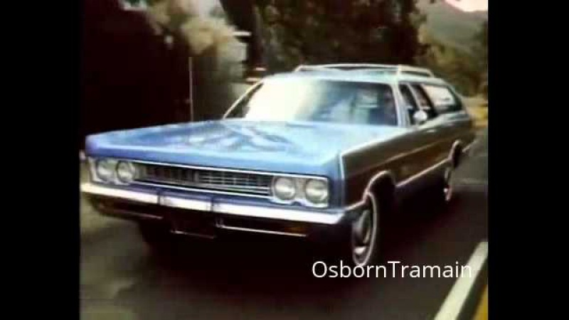 1969 Plymouth Sports Suburban Station Wagon Commercial with Petula Clark